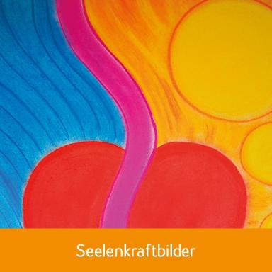 Seelenbild, kraftvoll-in-balance,Pastellkreide, mit Führung durch die geistige Welt,gemalt von Silvia Adank