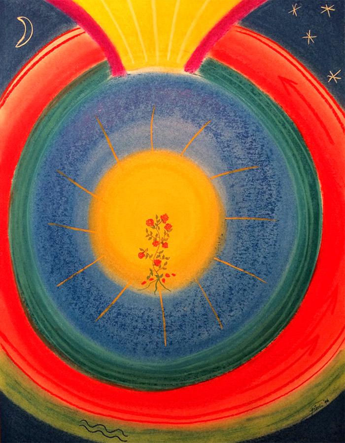 Seelenbild in Pastellkreide